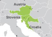 Pase Austria/Croacia-Eslovenia