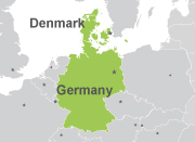 Pase Dinamarca-Alemania