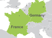 Pase Francia-Alemania
