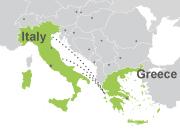 Pase Grecia-Italia